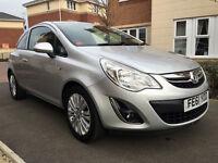 Vauxhall Corsa 1.0I 12V ECOFLEX EXCITE (aluminium/silver) 2011