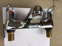 Bristan H0910 Bath Mixer Taps excellent condition