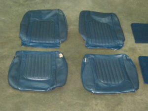 Mustang or Cougar 1968/7 seat upholstery set $300.00 OBO
