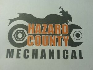 Hazard County Mechanical has all your atv and motorcycle needs!!