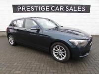 2014 BMW 1 Series 1.6 116d EfficientDynamics Sports Hatch (s/s) 5dr Diesel blue