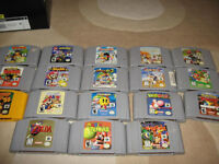 I'm Looking for n64 controllers system and games nintend