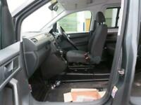 VW Caddy Petrol AUTO Wheelchair passenger upfront next to driver Automatic 2018