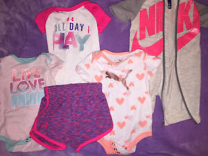 Name Brand 0-3 Month Baby Girl Clothing