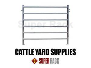 Cattle Panel Livestock Yard Heavy Duty Sliding Gate Man Racebow Richlands Brisbane South West Preview