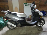 '08 Daymak Saigon 150 with Alarm.Stereo.Remote Start.New Battery