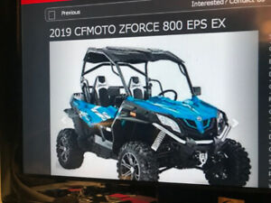 Cfmoto Zforce   Kijiji in Ontario  - Buy, Sell & Save with