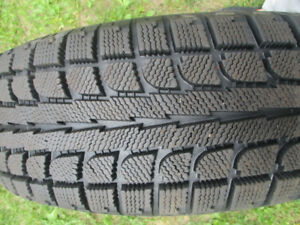 WINTER TIRES  225/65 17  LIKE NEW NEW  ( 98%)