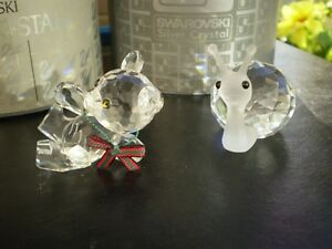 "Swarovski Crystal Figurines -"" Large Snail "" and "" Kris Bear "" Kitchener / Waterloo Kitchener Area image 3"