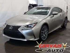 Lexus RC 350 AWD F-SPORT GPS Cuir Toit Ouvrant MAGS 2015