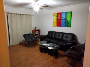 One furnished room in a 2 room condo