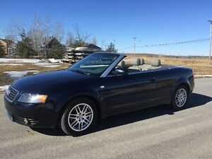 2004 Audi A4. convertible ,154000km, Automatique. cuir. $7500.