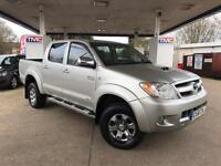 2008 Toyota Hilux 3.0 D-4D Invincible Double Cab Pickup 4dr PICKUP in SILVE(...)
