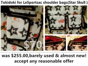 Star  Skull Tokidoki for LeSportsac shoulder bag__ barely used