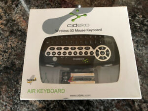 WIRELESS 3D KEYBOARD AND MOUSE BARLEY USED  MINT!!!