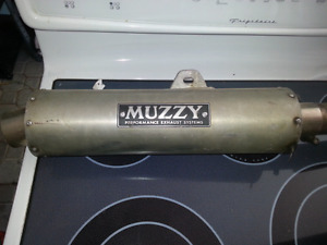 Muzzy Exhaust for Ninja 500