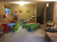 Private day home in Edgemont. Pick n drop available