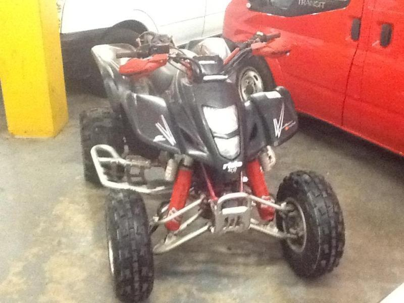 2007 Road Legal Suzuki Ltz 400 Black Red Swap Px In Padiham