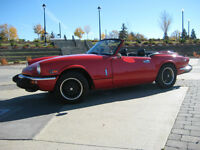 FOR SALE - 1974 TRIUMPH SPITFIRE CONVERTIBLE