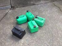 Petrol / diesel cans