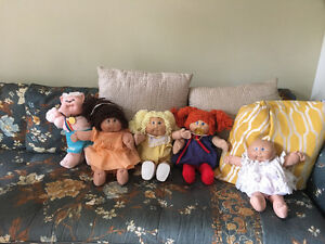Cabbage Patch Dolls ($20) each or best offer for lot