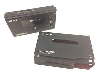 Sony WM-D6 Walkman Professional Cassette Tape Recorder Tested READ DESCRIPTION