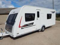 Elddis AFFINITY 540, 2013, 4 Berth, Fixed Bed, End Washroom, Movers, Full Awning