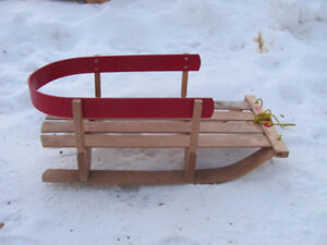 Childs sled in good condition $32