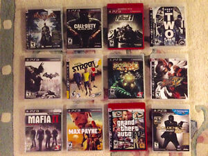 PS3 (PlayStation 3) Games $15 each