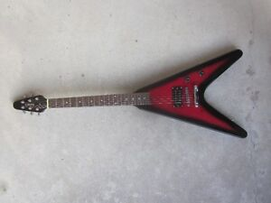 Mahar Red Flying V Solid Body Electric Guitar - Rarely Used Cambridge Kitchener Area image 5
