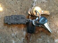 LOST:  Set of camper keys in Downtown Fredericton 8/20/2015