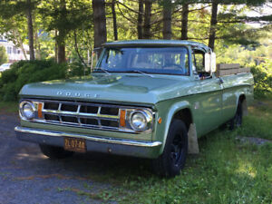 1969 Dodge D100 Pickup Truck trade for Tractor