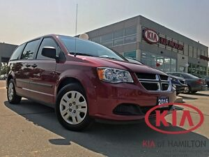 2016 Dodge Grand Caravan SE Canada Value Package | STOW 'N' GO |