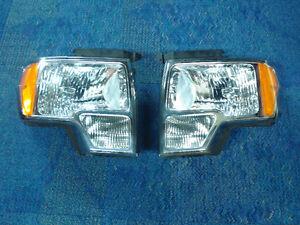 Ford F150 2009-2014 headlights