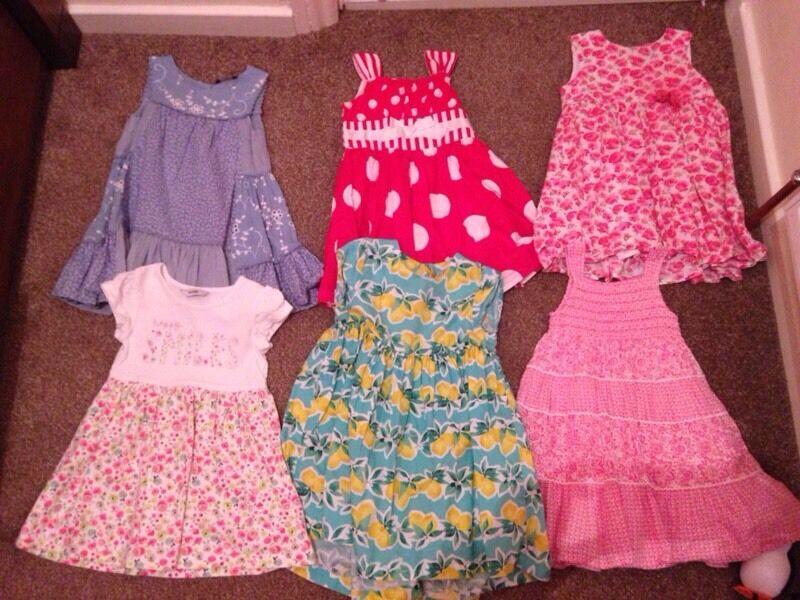 6 baby dresses
