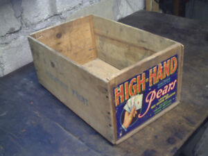 Vintage Fruit Crate