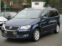 2010 Volkswagen Touran 1.4 TSI Match 5dr DSG [7] MPV Petrol Automatic