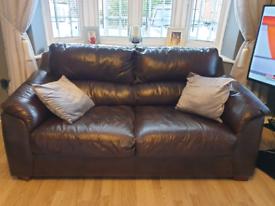Sofa Set Dark Brown - Bargain for quick sale!