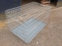 Huge collapsible dog cage