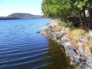 LOOKING FOR LARGE PARCEL OF LAKEFRONT LAND IN THE GATINEAU'S