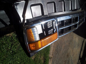 91 Dakota grill, front  bumper, grill & headlight doors