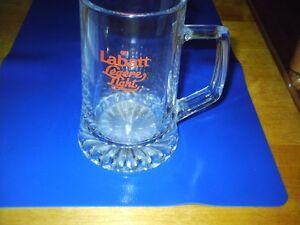 chope a biere labatt  beer mug