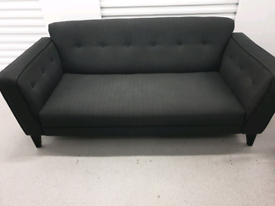 Free Delivery Grey 3/4 Seater Sofa