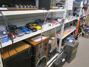 Lego/Kinex, Hot Wheels/diecast, books, vinyl, T's & much more