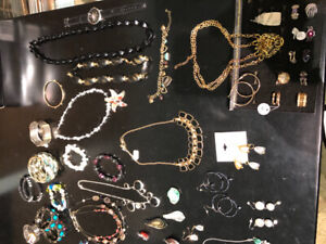 Women's Jewelry, shoes 7 1/2 & 8)clothes (S) $5 each