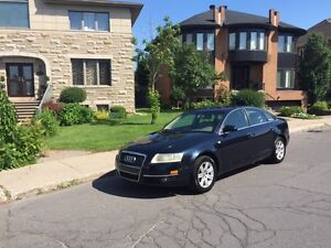 2005 AUDI A6 QUATTRO with navigation