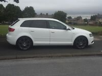 2010 Audi A3 1.8 tfsi black edition sport back 5dr
