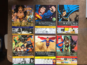 The Complete DC Comics Guides: A complete comic making education