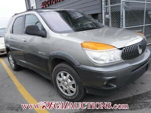 2002 BUICK RENDEZVOUS  4D UTILITY FWD