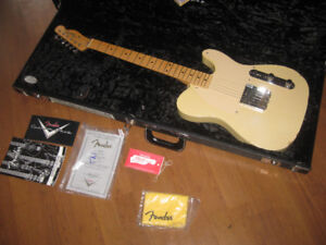 Gibson Les Paul, Fender Telecaster, Esquire Custom Shop, Mesa